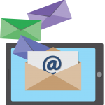 email, icon, marketing