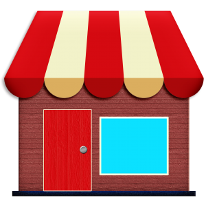 store icon, awning, exterior